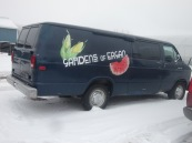 Gardens of Eagan delivery truck.