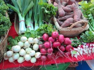 Produce from Racing Heart Farm